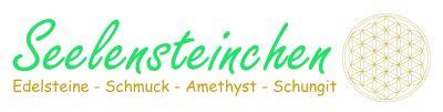 Seelensteinchen - Edelsteine - Schungit - Edelsteinwasser-Logo